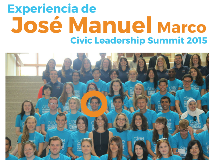 Jose Manuel_CIEE Civic Leadership Summit_Travelingua